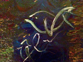 Abstract art by Jennifer Riaz